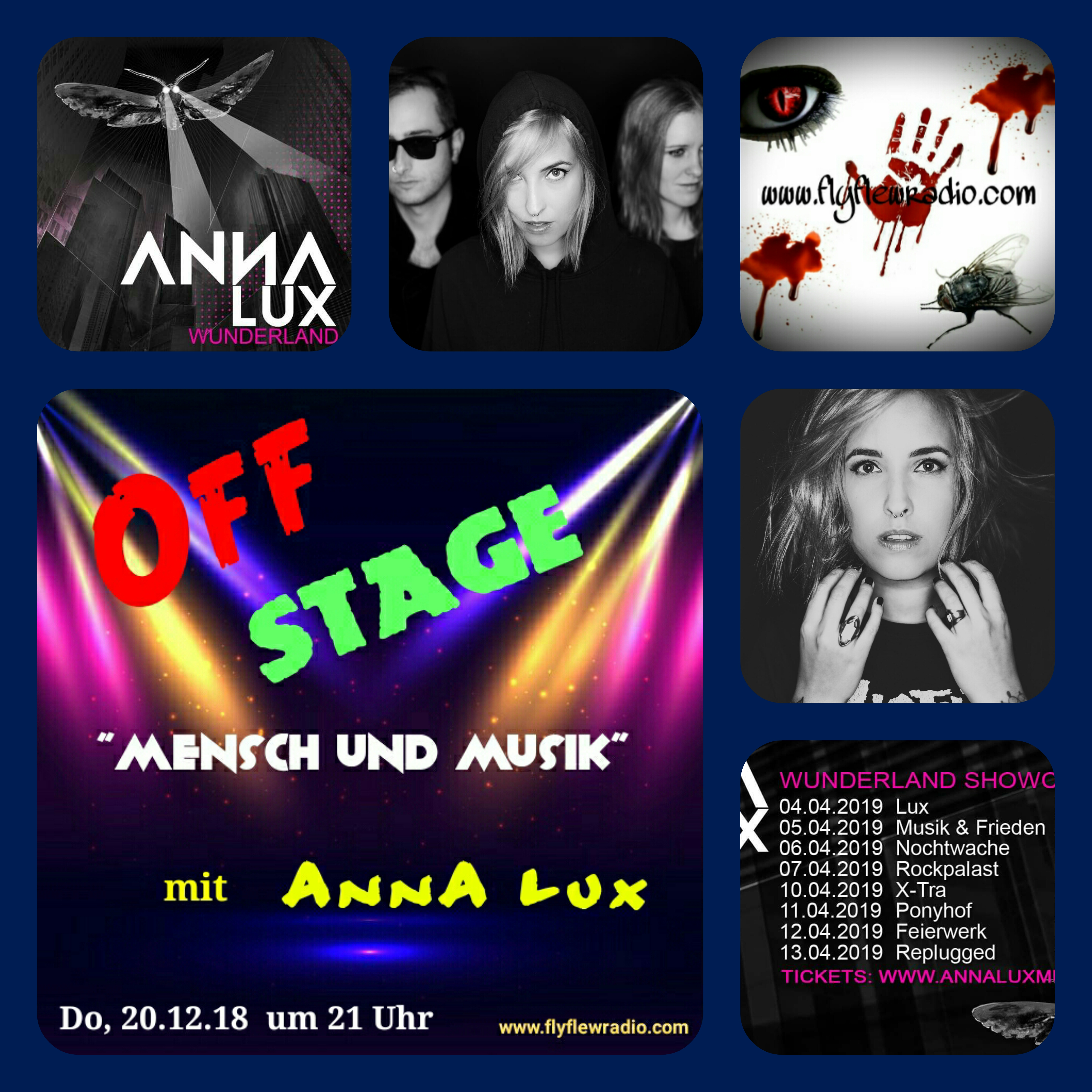 OFF STAGE: AnnA Lux